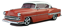 1949 - 1954 Chevy Belair, Fleetline
