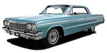 1958 - 1970 Chevy Impala, Belair, Biscayne