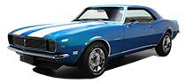 1967 - 1981 Chevy Camaro, Pontiac Firebird