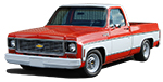 1973 - 1987 Chevy C10 and GMC C15 Truck