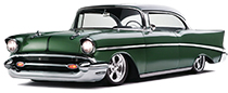 1955 - 1957 Chevy Belair, Nomad, 210