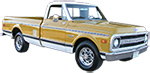 1971 - 1987 Chevy C20 and GMC C25 Truck
