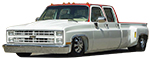 1973 - 1991 Chevy and GMC C30 - C3500 Truck