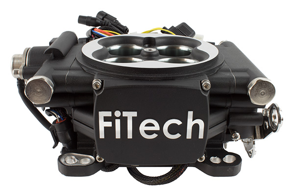 FiTech Go EFI Fuel Injection System, 600HP, Matte Black