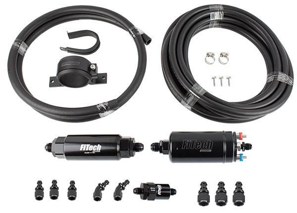 FiTech In-Line Frame Mount EFI Fuel Delivery Kit