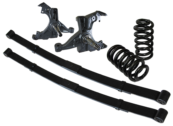 """1971-72 Chevy C10 Deluxe Lowering Kit - 4"""" Front - 6"""" Rear"""