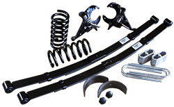 """1982-04 Chevy S10 and GMC S15 Deluxe Lowering Kit, 4"""" Front, 6"""" Rear, Stage 3"""
