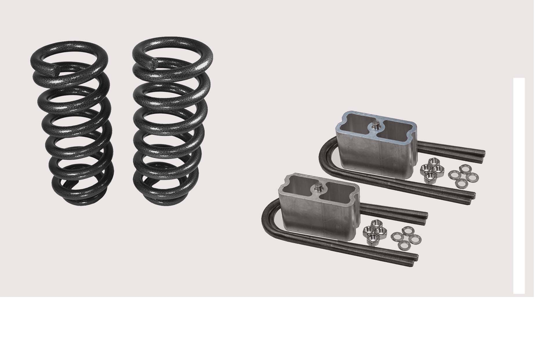 Chevy / GMC Complete Lowering Kit for Colorado and Canyon