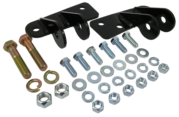 1973-87 Chevy C10, C20 Truck Shock Relocation Kit for Lowered Trucks, Front