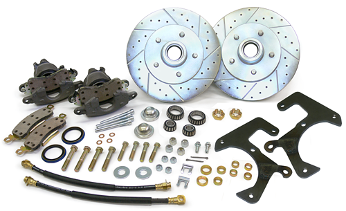 1957-64 Ford F100 Truck Front Disc Brake Conversion Wheel Kit