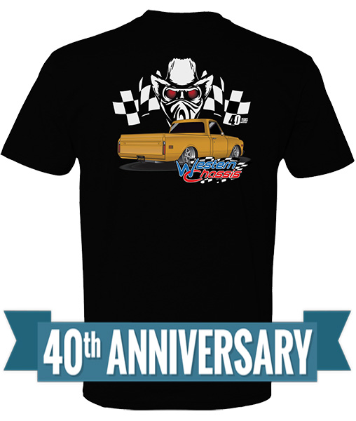 Western Chassis 40th Anniversary T-Shirt