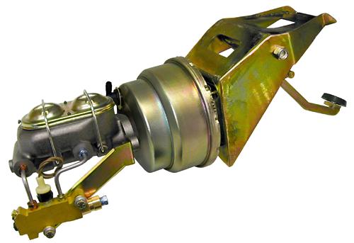 1953-56 Ford F100 Truck Firewall Mount Power Brake Booster Kit
