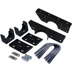 1973-87 Chevy C10 and GMC C15 Rear Flip Kit and C-Notch Kit