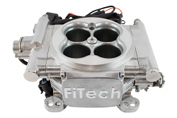 FiTech Go EFI Fuel Injection System, 600HP, Bright Aluminum
