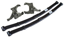 """1971-72 Chevy C10 Deluxe Lowering Kit - 2"""" Front - 4"""" Rear - Spindle - Leaf Spring"""
