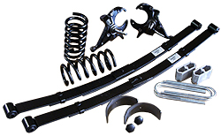 "1982-04 Chevy S10 and GMC S15 Deluxe Lowering Kit, 4"" Front, 5"" Rear, Stage 3"