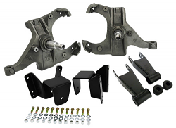 """1981-87 Chevy/GMC C10 Lowering Kit - 2.5"""" Front/4"""" Rear, 1"""" Rotor"""