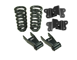 "1988-98 Chevy and GMC C1500 Lowering Kit, 2"" Front, 4"" Rear, Economy Type"
