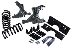 "1988-91 Chevy-GMC C1500 Regular Cab Deluxe Lowering Kit - 3"" Front / 5"" Rear"