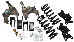 "1989-1999 Chevy-GMC C3500 Deluxe Lowering Kit - 3""Front/4"" Rear"