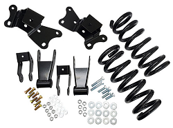 "1989-1999 Chevy-GMC C3500 Lowering Kit - 3"" Front/4"" Rear"