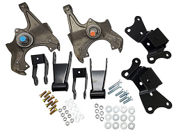 """1989-1999 Chevy-GMC C3500 Deluxe Lowering Kit - 2""""Front/4"""" Rear"""