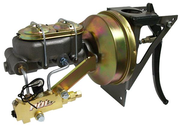 1954-55 Chevy Truck Firewall Mount Power Brake Booster Kit