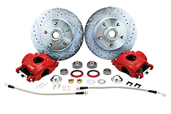 1960-72 Chevy C10 Truck Disc Brake Rotor Kit, 5 Lug