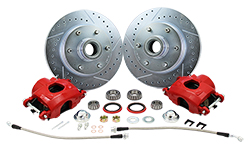 1960-70 Chevy C10 Truck Disc Brake Rotor Kit, 6 Lug