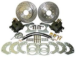 "Ford 9"" Rear Disc Brake Conversion Kit - 5 x 4.75"" or 5 x 4.5"" Bolt Pattern"