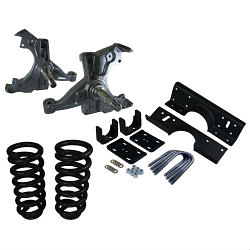 "1992-98 Chevy-GMC C1500 Regular Cab Deluxe Lowering Kits - 4"" Front / 6"" Rear"