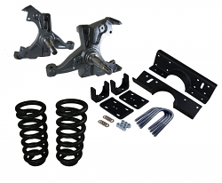 """1973-87 Chevy/GMC C10 Deluxe Lowering Kit with 1 1/4"""" Rotor - 4"""" Front/6"""" Rear"""