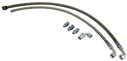 Power Steering Hose Kit, LS Pump, Stainless Steel