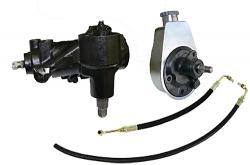 1958-64 Chevy Impala Power Steering Conversion, 605 Gear Box