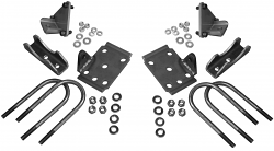 1949-54 Chevy Belair Rear End Conversion Kit with Shock Mounts