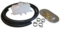 Master Cylinder Remote Fill Cap and Reservoir Kit