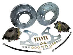 1963-87 Chevy C20 Rear Disc Brake Conversion Kit, 8-Lug