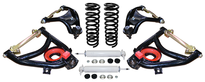1955-1957 Chevy Belair Tubular Control Arm Suspension System, Stage 3