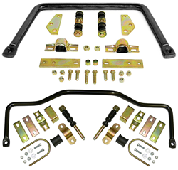 1947-55 Chevy Truck Anti Sway Bar Kit, Front and Rear