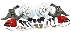 63-70 Chevy C10 Truck Disc Brake Conversion Kit, 6 Lug Deluxe