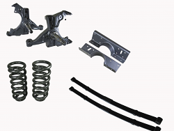 1988-98 Chevy C1500 Extended Cab Truck Deluxe Lowering Kit