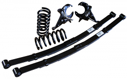"""1992-1999 Chevy/GMC Suburban Deluxe Lowering Kit - 3""""Front/4"""" Rear"""