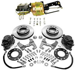 """1955-59 Chevy Truck and GMC Truck Front Power Disc Brake Conversion Kit, 6 x 5.5"""" Bolt Pattern"""