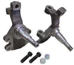"""1964-72 Chevy Chevelle & Monte Carlo Factory Disc Brakes Drop Spindle - 2"""" Drop"""