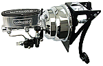 1948-52 Ford F100 Truck Wilwood Power Brake Booster Kit - Chrome - Firewall Mount