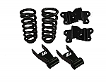 """1973-91 Chevy/GMC C3500 Best Buy Lowering Kit - 2"""" Front/4"""" Rear"""
